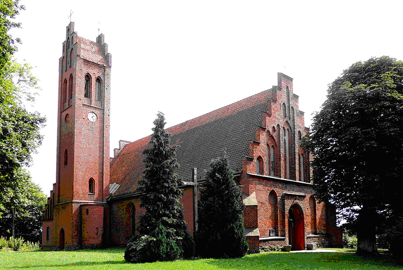 Kościół parafialny w Milejewie