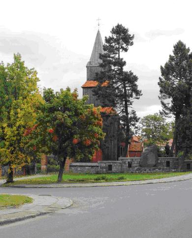 Kościół parafialny w Pomorskiej Wsi